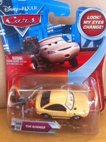 DISNEY CARS DIECAST - Tim Rimmer With Moving Eyes