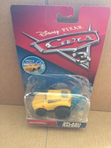 DISNEY CARS 3 Splash Racers - Cruz Ramirez - Spray and Play