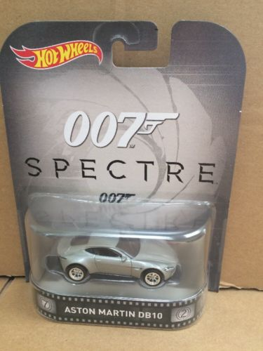 HOT WHEELS RETRO Entertainment -  James Bond 007 - Spectre - Aston Martin DB10