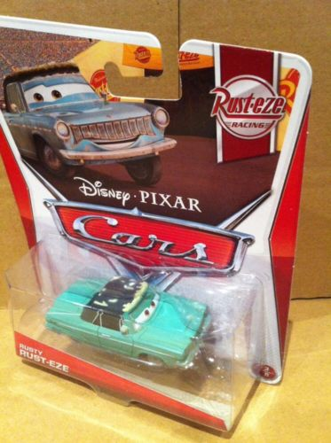 DISNEY CARS DIECAST - Rusty Rust-Eze