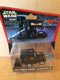 DISNEY CARS DIECAST Star Wars - Sarge As Emperor Palpatine With Cone Droid