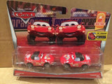 DISNEY CARS DIECAST - Superfan Mia and Tia