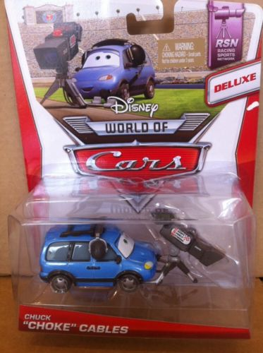 DISNEY CARS DELUXE DIECAST - Chuck