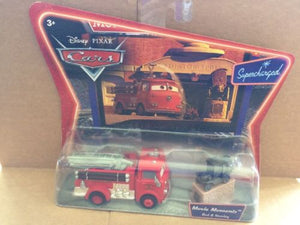 DISNEY CARS DIECAST - Red the Fire Truck and Stanley