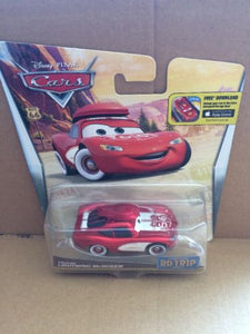 DISNEY CARS DIECAST - Road Trip Cruisin' Lightning McQueen