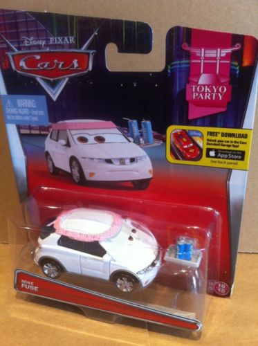 DISNEY CARS DIECAST - Mike Fuse