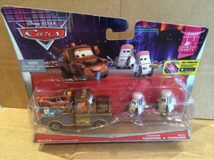 DISNEY CARS DIECAST - Mater With Allinol Cans with Edamame and Daisu Tsashimi