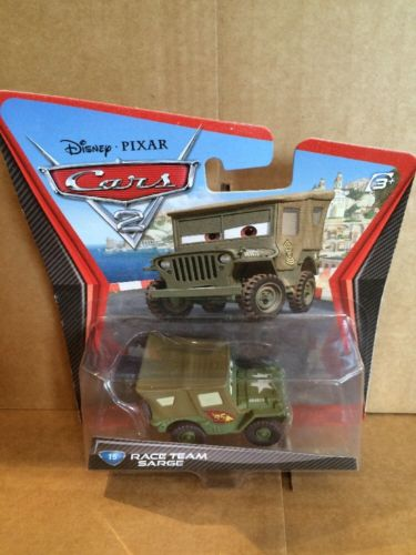 DISNEY CARS DIECAST - Race Team Sarge