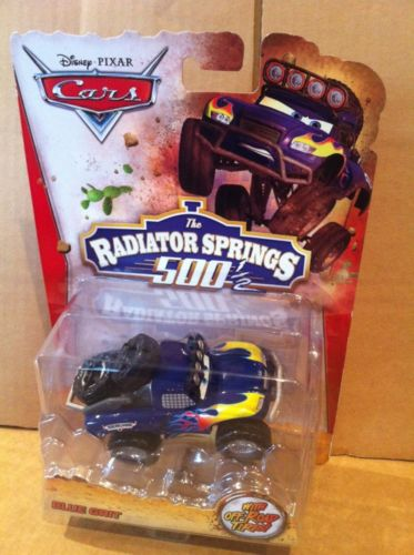 DISNEY CARS DIECAST RS500 - Blue Grit - Radiator Springs 500 1/2