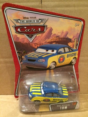 DISNEY CARS DIECAST - Race Official Tom