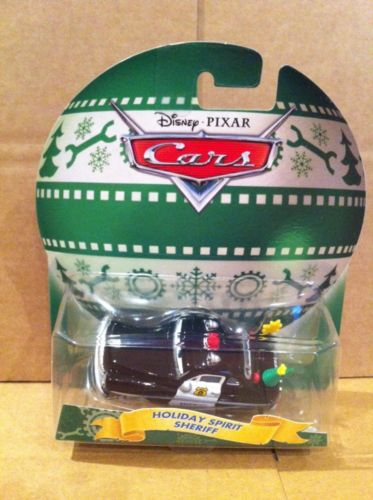 DISNEY CARS DIECAST - Christmas Edition - Holiday Spirit Sheriff