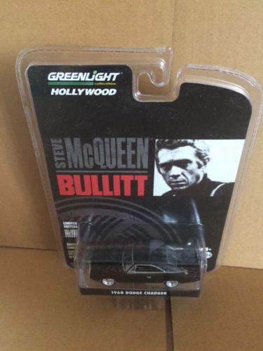 Greenlight Hollywood Diecast - Steve McQueen Bullitt - 1968 Dodge Charger