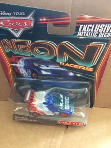 DISNEY CARS DIECAST - Raoul Caroule - Neon Racers