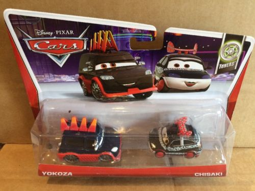 DISNEY CARS DIECAST - Yokoza and Chisaki