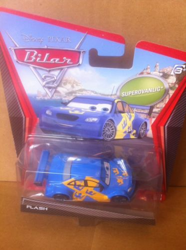 DISNEY CARS DIECAST - Super Chase - Flash Nilsson