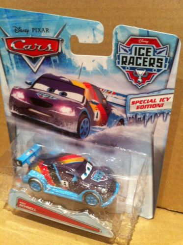 DISNEY CARS DIECAST - Max Schnell Ice Racer