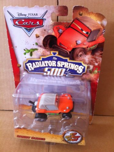 DISNEY CARS DIECAST RS500 - Sandy Dunes Radiator Springs 500 1/2
