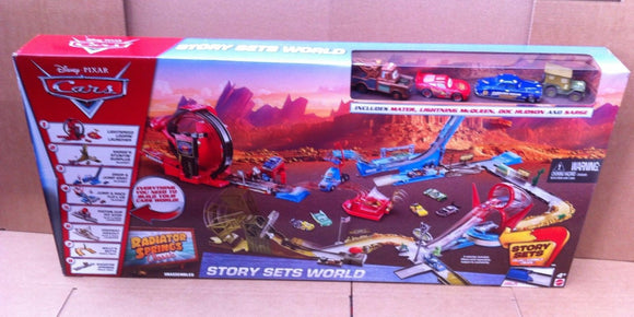 DISNEY CARS  - Radiator Springs Classic Story Sets World