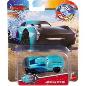 DISNEY CARS Colour Changer - Jackson Storm
