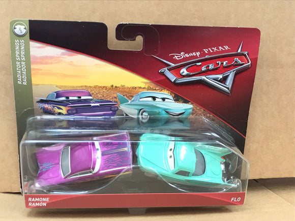 DISNEY CARS DIECAST - Flo and Ramone
