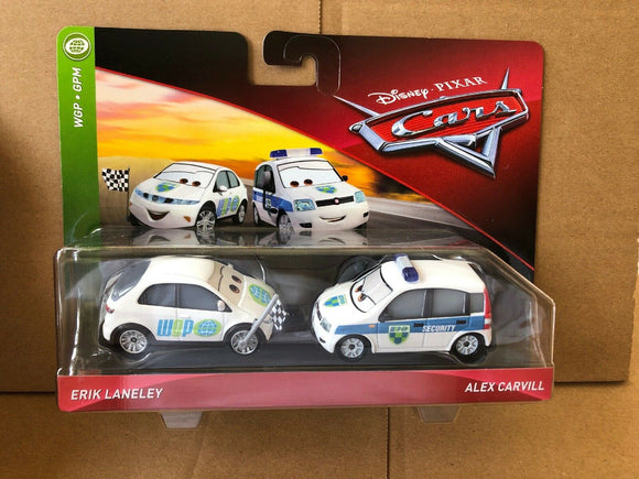 DISNEY CARS DIECAST - Erik Laneley and Alex Carvill