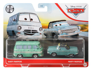DISNEY CARS 3 DIECAST - Dusty and Rusty Rusteze