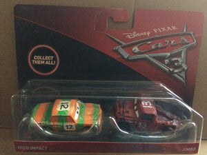 DISNEY CARS 3 DIECAST - High Impact and Jimbo