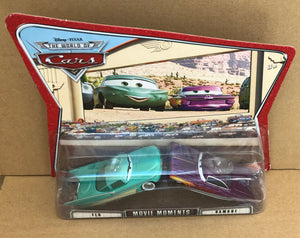 DISNEY CARS DIECAST - Movie Moments - Flo and Ramone