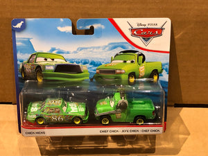 DISNEY CARS DIECAST - Chick Hicks and Crew Chief