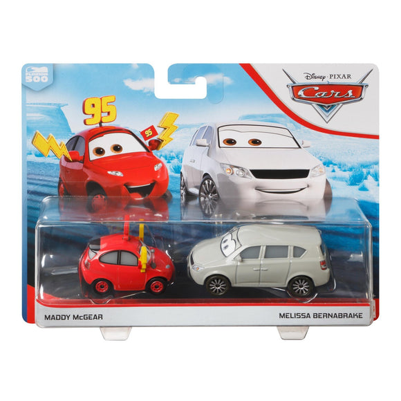 DISNEY CARS DIECAST - Melissa Bernabrake and Maddy McGear