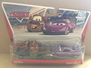 DISNEY CARS DIECAST - Airport Mater and Holley Shiftwell