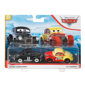 DISNEY CARS DIECAST - Heyday Junior Moon and Eli Turnpike