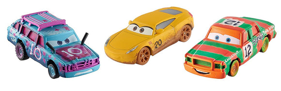 DISNEY CARS 3 DIECAST - Crazy 8 3-Pack with High Impact, Blind Spot and Cruz Ramirez