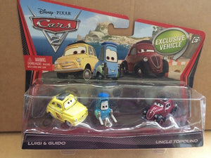 DISNEY CARS DIECAST - Luigi Guido and Uncle Topolino