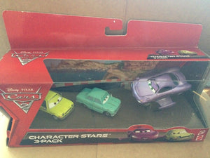 DISNEY CARS DIECAST  3 Pack - Holley Shiftwell with wings Acer Petrov Trunkov