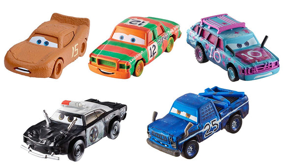 DISNEY CARS 3 DIECAST - Demo Derby 5-Pack with Broadside APB Blind Spot