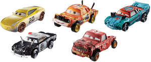 DISNEY CARS 3 DIECAST - Thunder Hollow 5-Pack with Fishtail Jimbo Pushover
