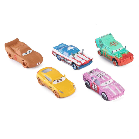 DISNEY CARS 3 DIECAST - Thunder Hollow 5-Pack FPV62 with Chester Frances Tailgate