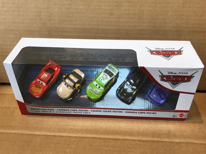 DISNEY CARS DIECAST - Piston Cup Race 5-pack with Shannon Spokes