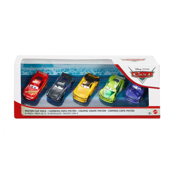 DISNEY CARS 3 DIECAST - Piston Cup Cup Race 5-Pack with Next Gen Leakless
