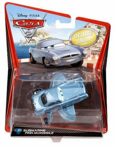 DISNEY CARS DELUXE DIECAST - Submarine Finn McMissile