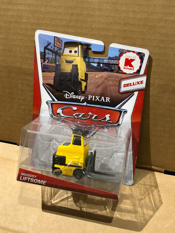 DISNEY CARS 2 DELUXE DIECAST - Muggsy Liftsome