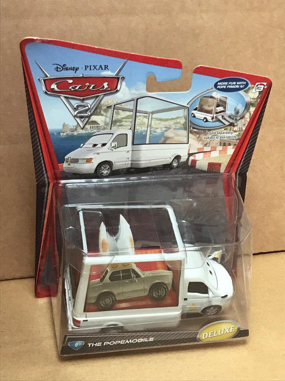 DISNEY CARS DELUXE DIECAST - Pope Mobile