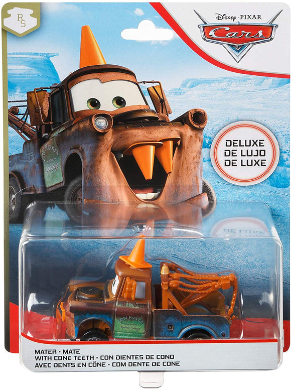 DISNEY CARS DELUXE DIECAST - Mater with Cone Teeth