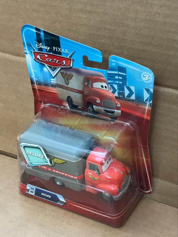 DISNEY CARS DELUXE DIECAST - Miles the meat truck