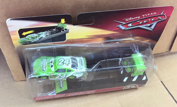 DISNEY CARS 3 DIECAST - Vitoline aka Brick Yardley with Launcher