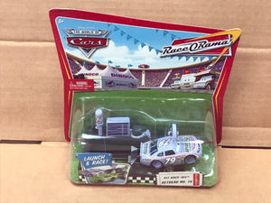 DISNEY CARS DIECAST - Retread with Pit Race Off Launcher