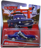 DISNEY CARS DIECAST - Brent Mustangburger With Headset