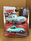DISNEY CARS DIECAST - Jumpstart J Ward - Jaguar