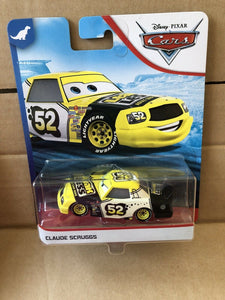 DISNEY CARS DIECAST - Claude Scruggs aka Leakless No. 52
